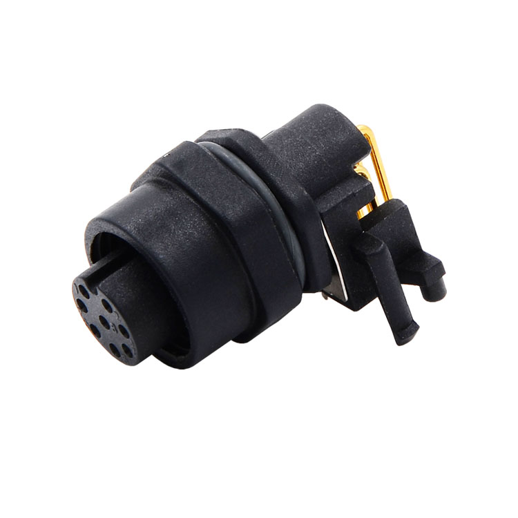 M12 90 degree Receptacles